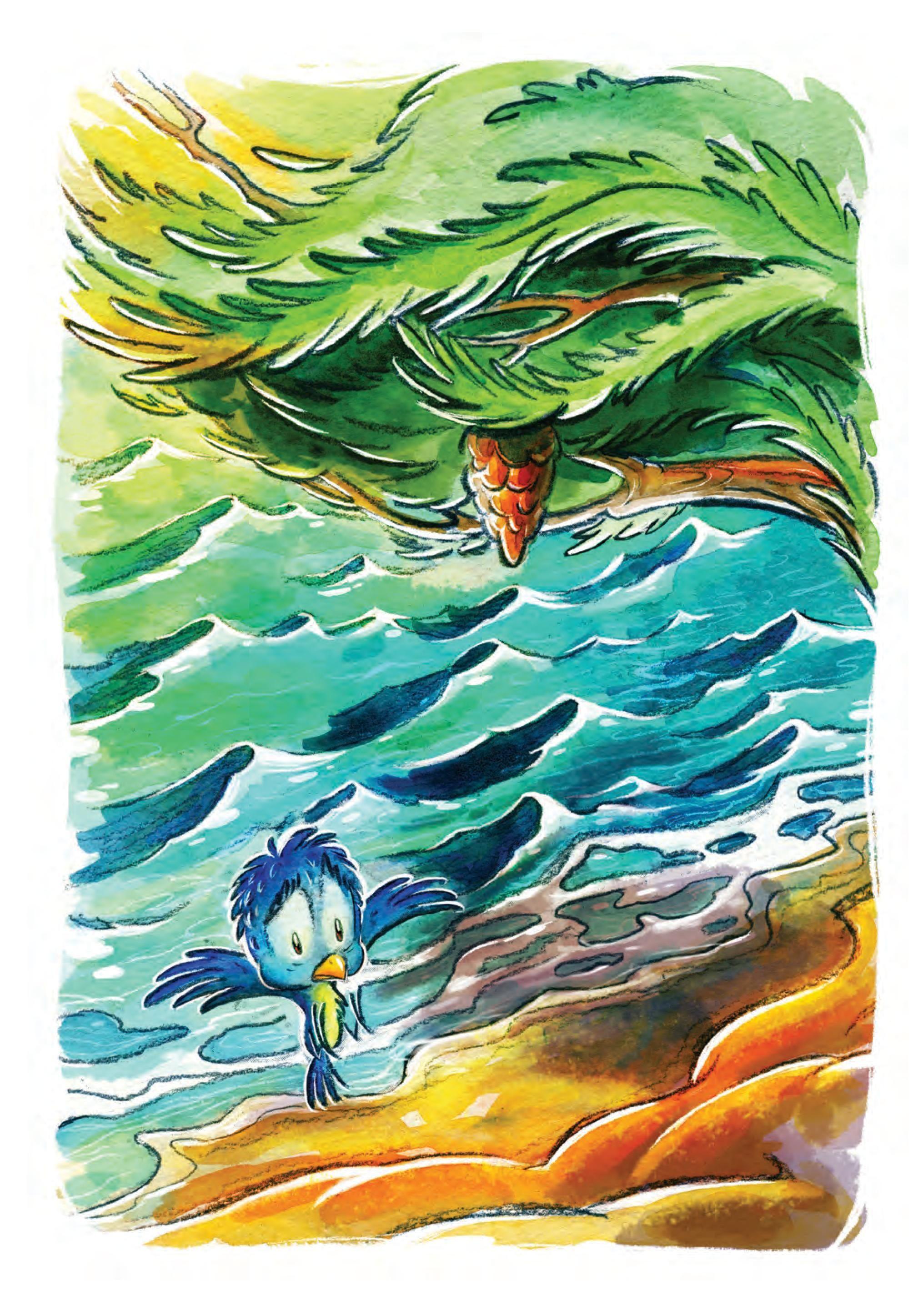 Птичето и дървото - 4