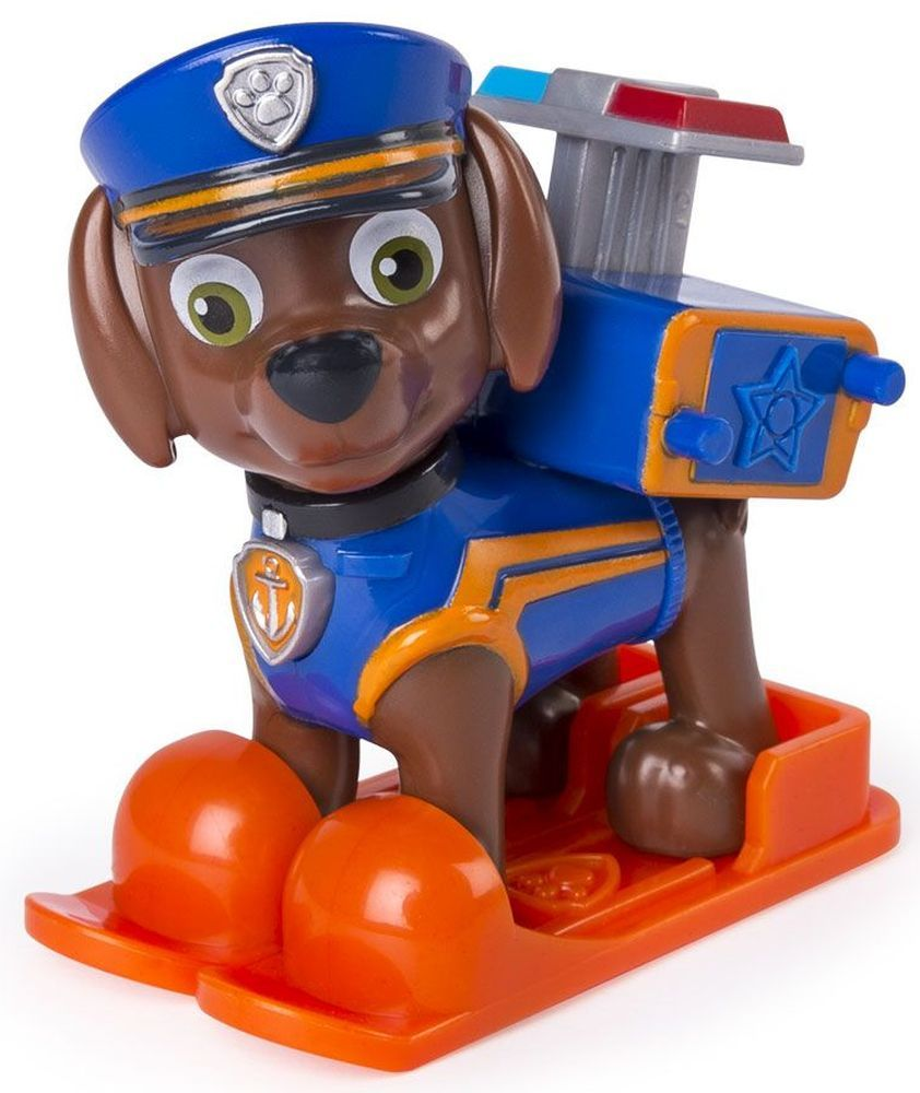Фигура със значка Spin Master Paw Patrol - Ultimate Rescue, Зума - 2