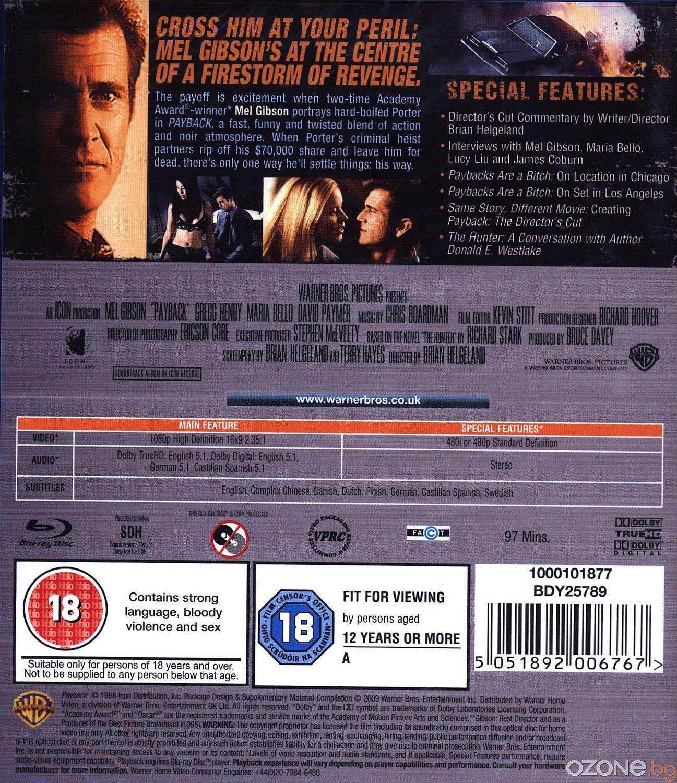 Payback (Blu-Ray) - 2