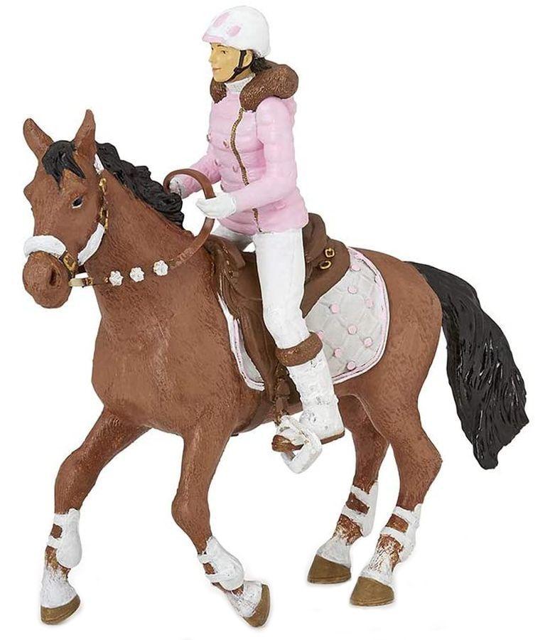 Сглобяем модел Papo Horses, foals and ponies – Клуб по езда, с фигурки - 2