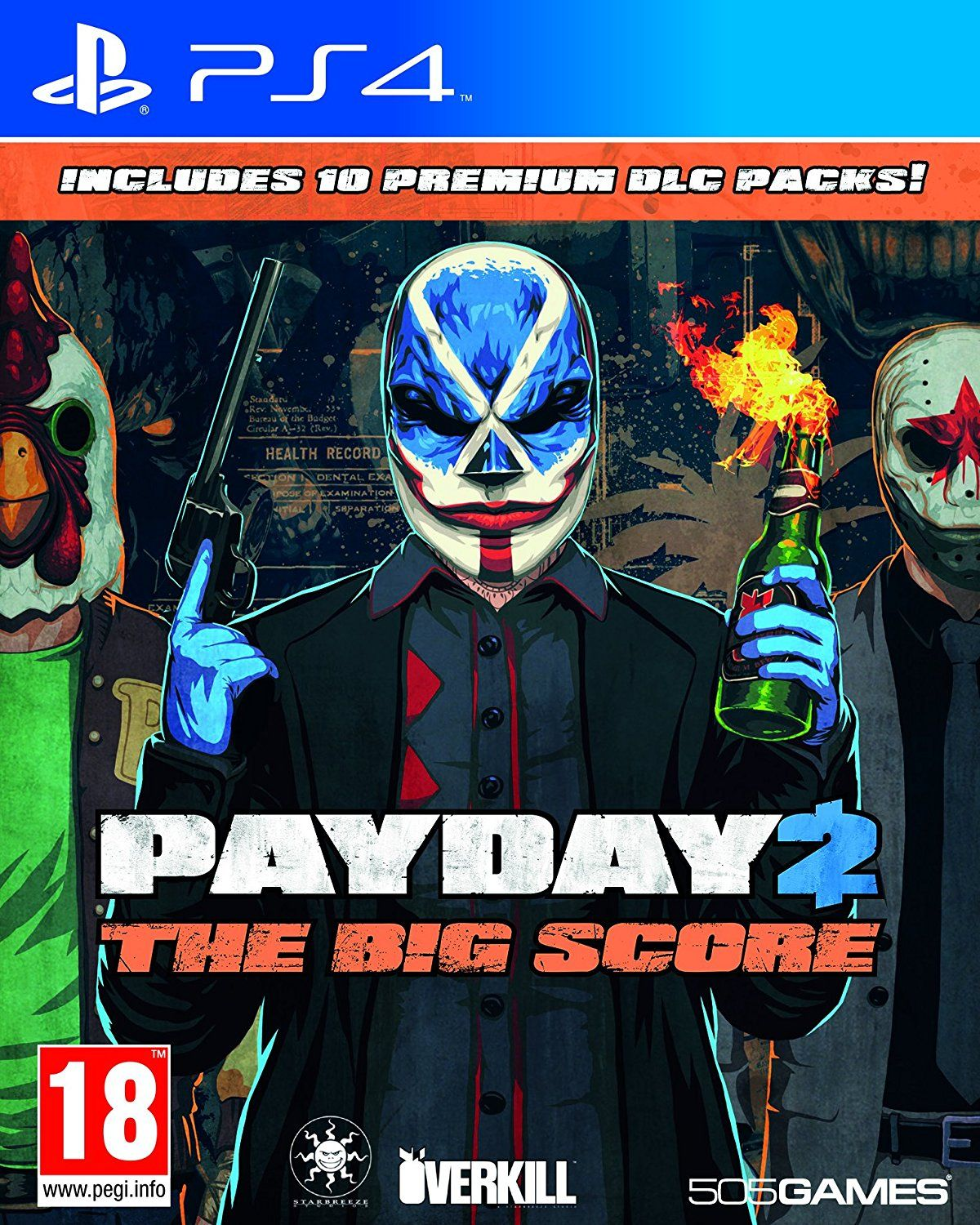 Payday 2 The Big Score (PS4) - 1