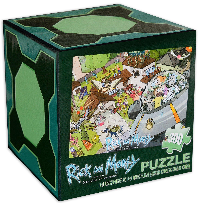 Пъзел Jigsaw от 300 части - Rick and Morty - 1