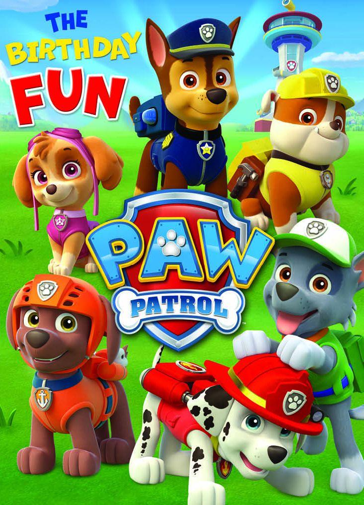 Поздравителна картичка Danilo - Paw Patrow - 1