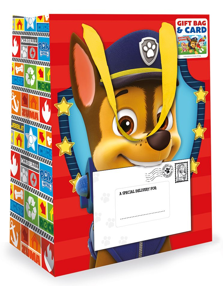 Подаръчна чанта и картичка Danilo - Paw Patrol - 1