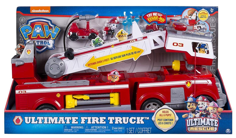 Пожарна кола Spin Master Paw Patrol - Ultimate Rescue - 5