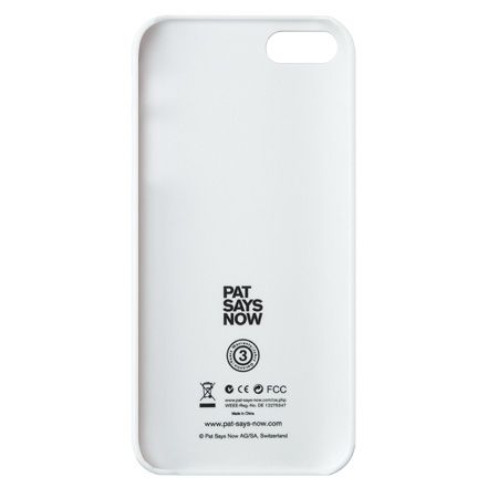 Pat Says Now Marina Blue за iPhone 5 - 4