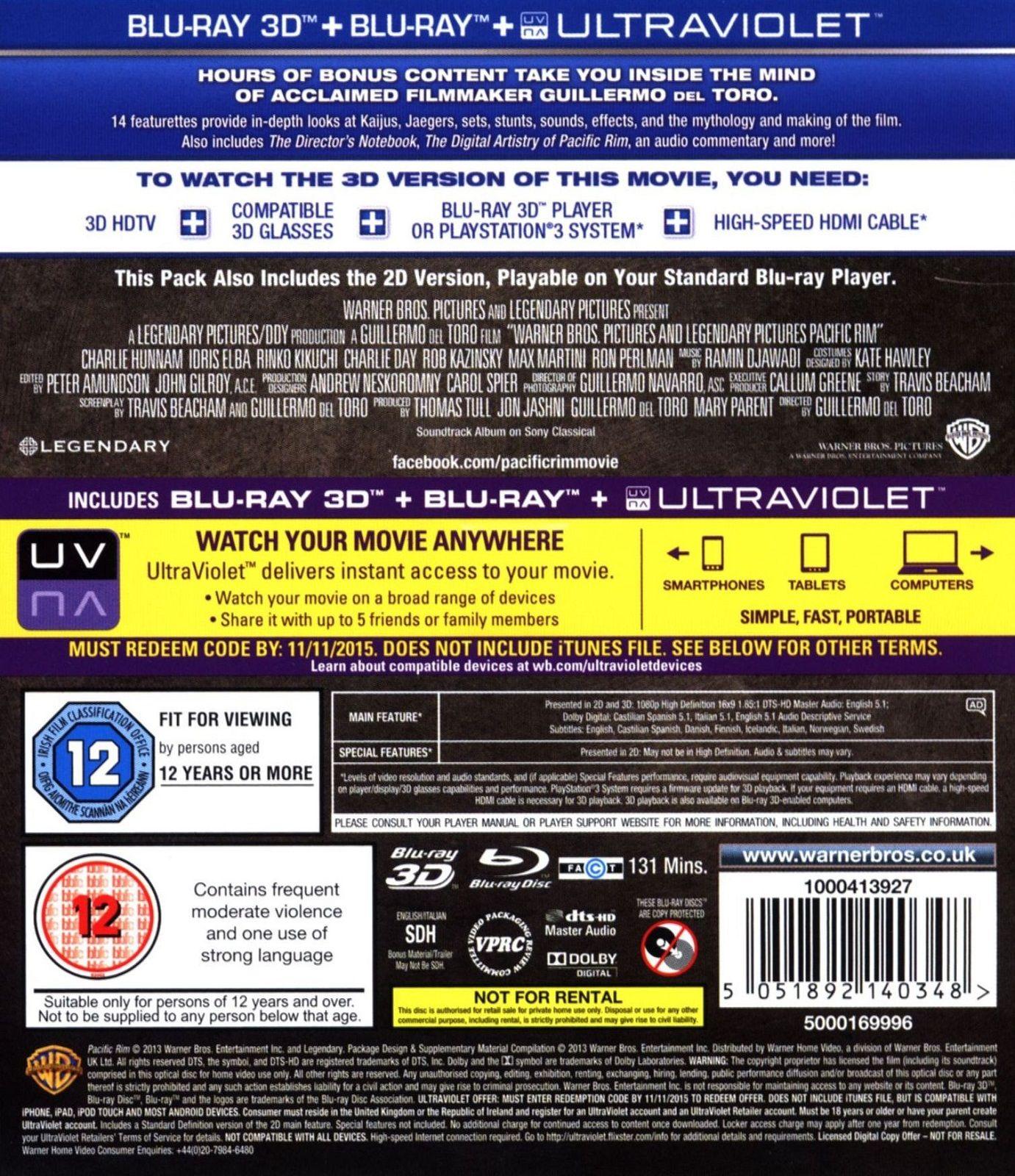 Pacific Rim 3D (Blu-Ray) - 2
