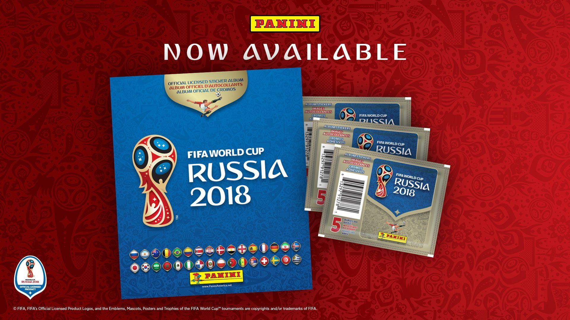 Албум за стикери Panini FIFA World Cup Russia 2018 - 4