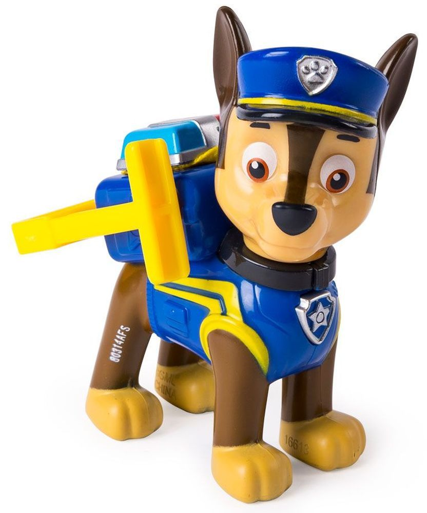Фигура със значка Spin Master Paw Patrol - Ultimate Rescue, Чейс - 1