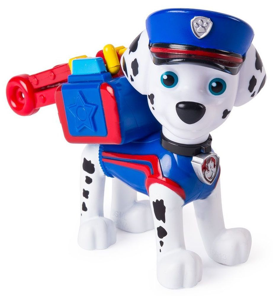 Фигура със значка Spin Master Paw Patrol - Ultimate Rescue, Маршал - 1
