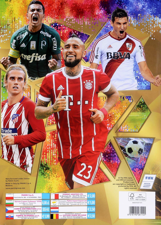 Албум за стикери Panini FIFA 365 - 2018 - 4