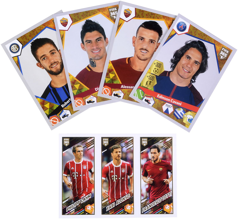 Стартов Пакет - Албум с 25 стикера Panini FIFA 365 - 2018 - 12