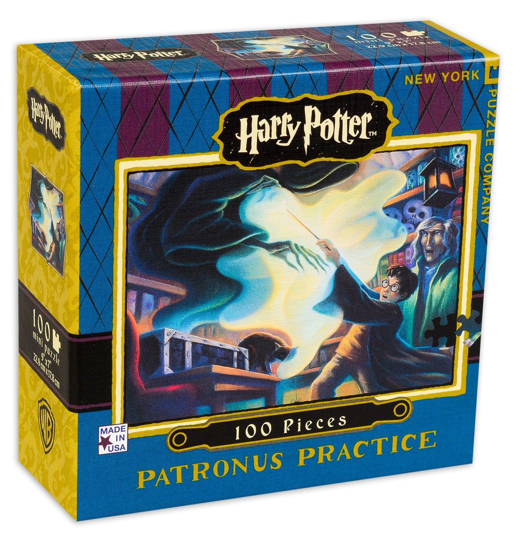 Мини пъзел New York Puzzle от 100 части - Patronus Practice - 2