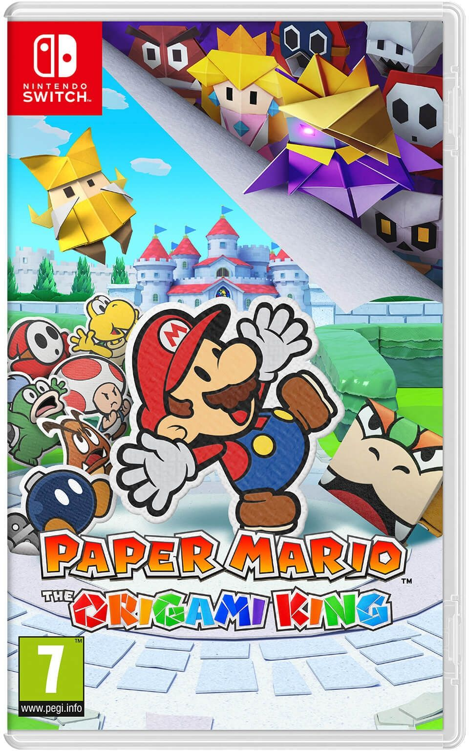 Paper Mario: The Origami King (Nintendo Switch) - 1