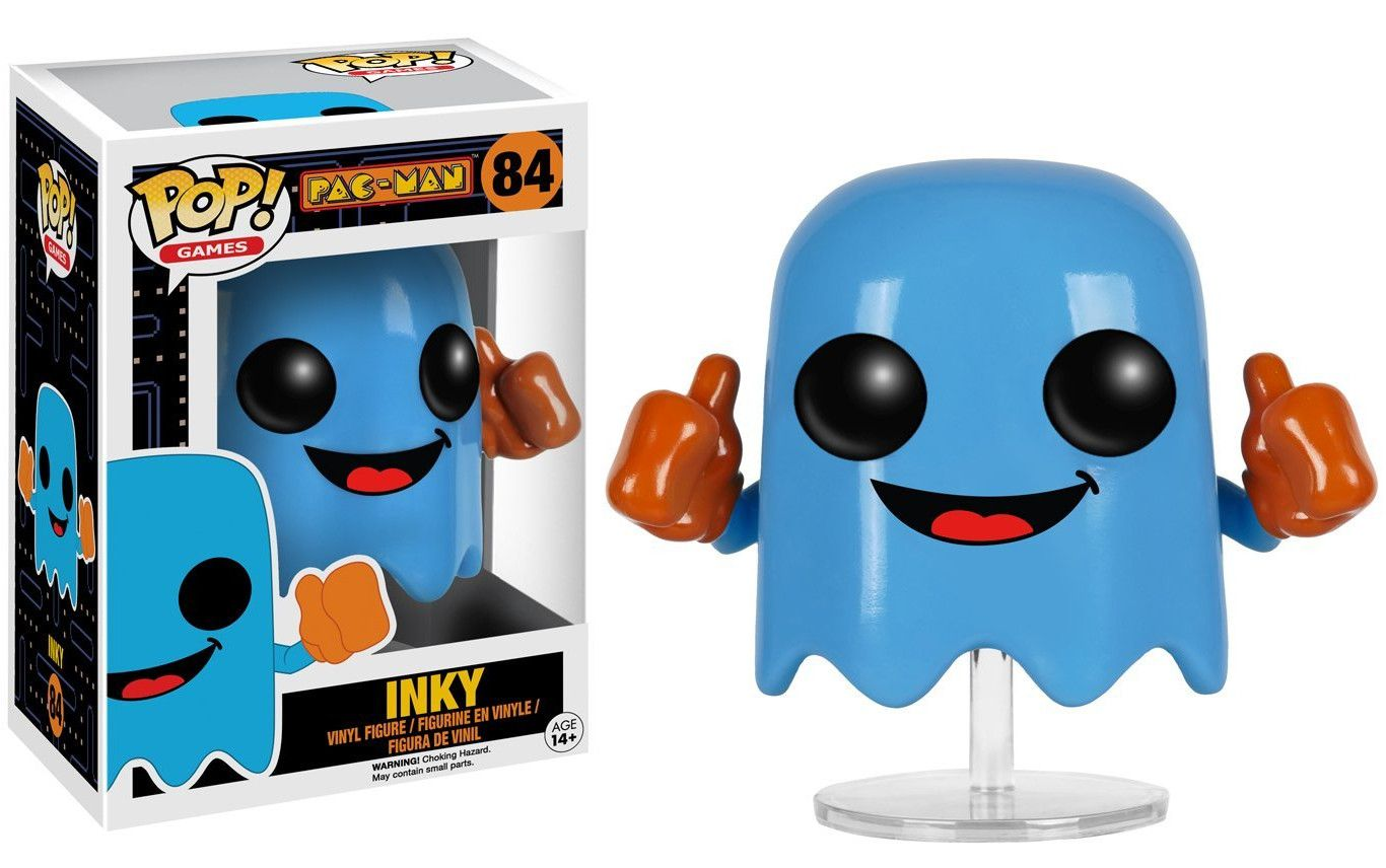 Фигура Funko Pop! Games: Pac-Man - Inky, #84 - 2