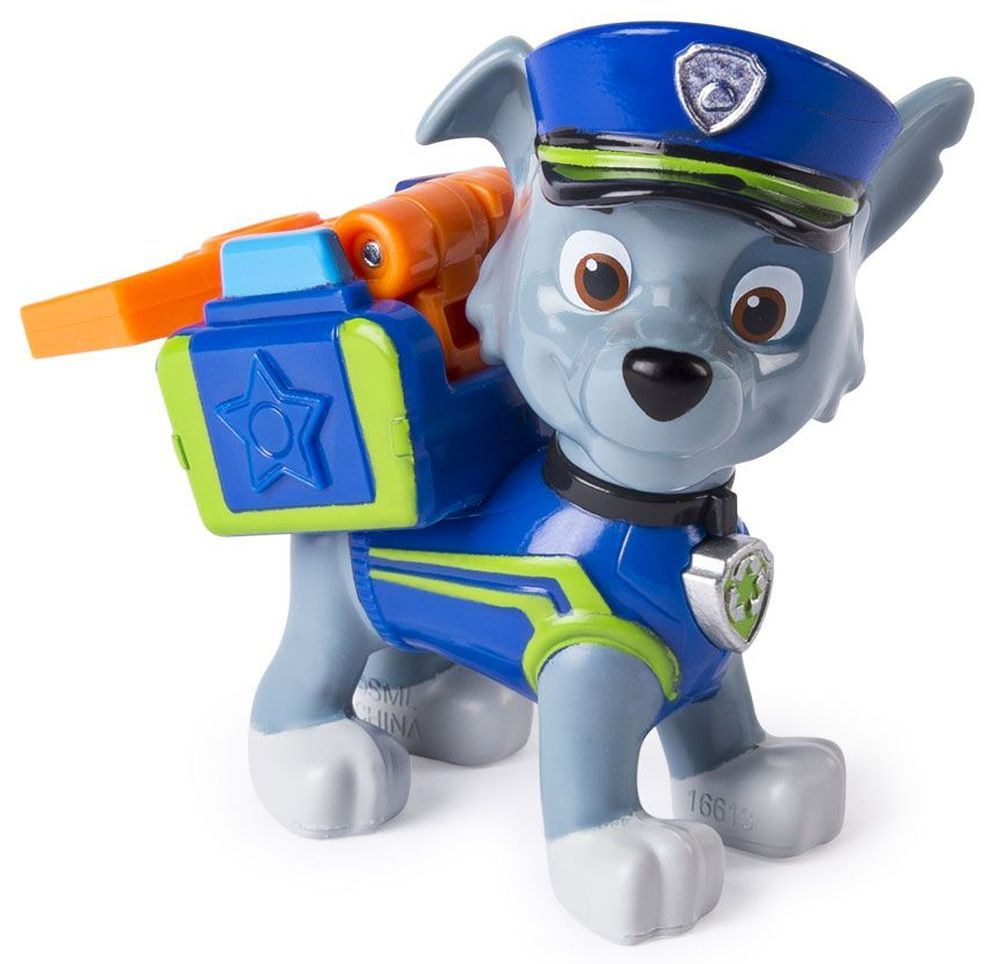 Фигура със значка Spin Master Paw Patrol - Ultimate Rescue, Роки - 1