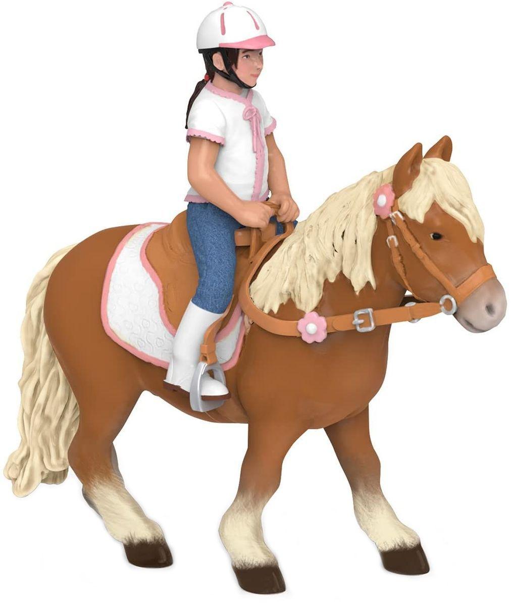 Сглобяем модел Papo Horses, foals and ponies – Клуб по езда, с фигурки - 3