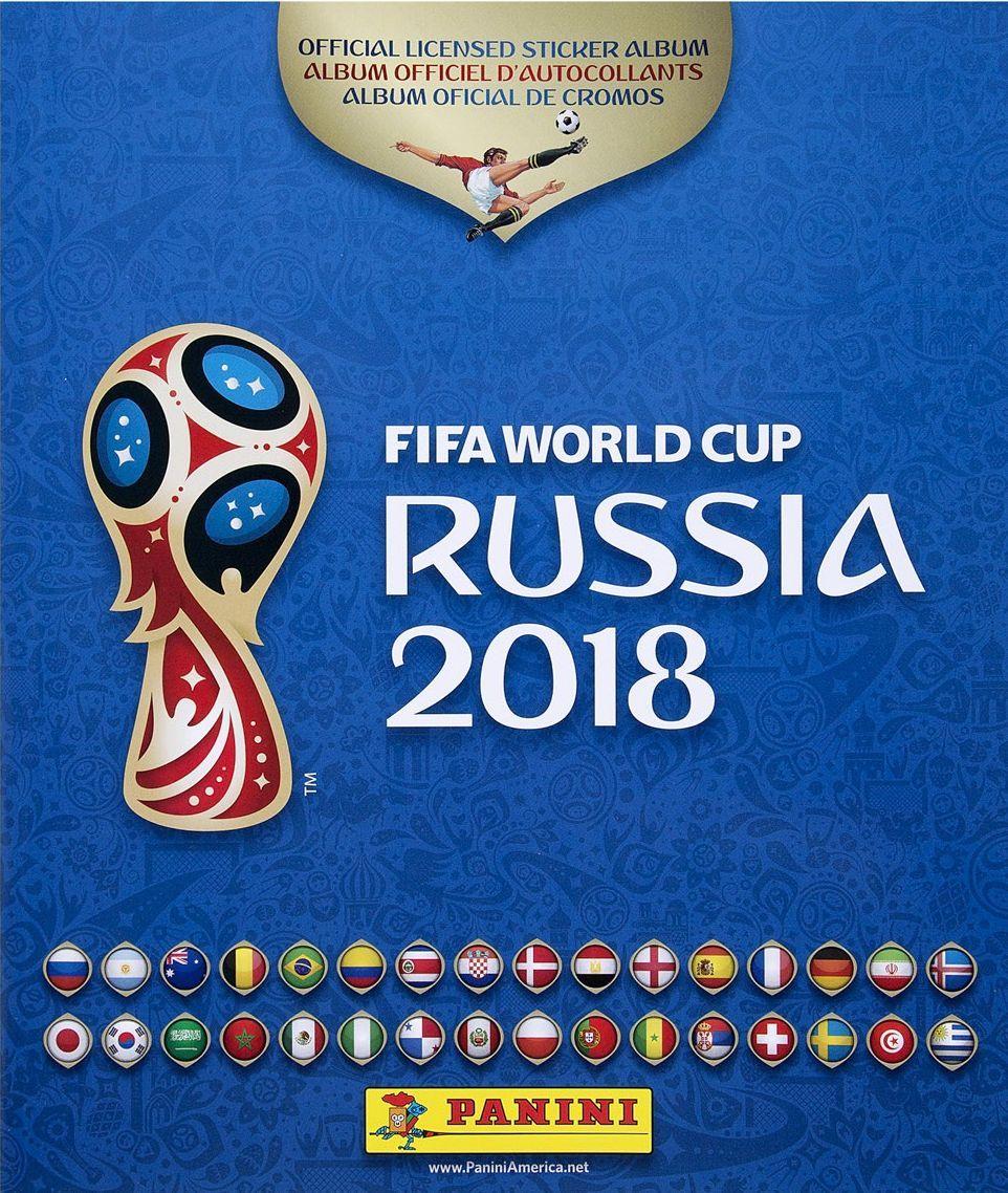Албум за стикери Panini FIFA World Cup Russia 2018 - 1
