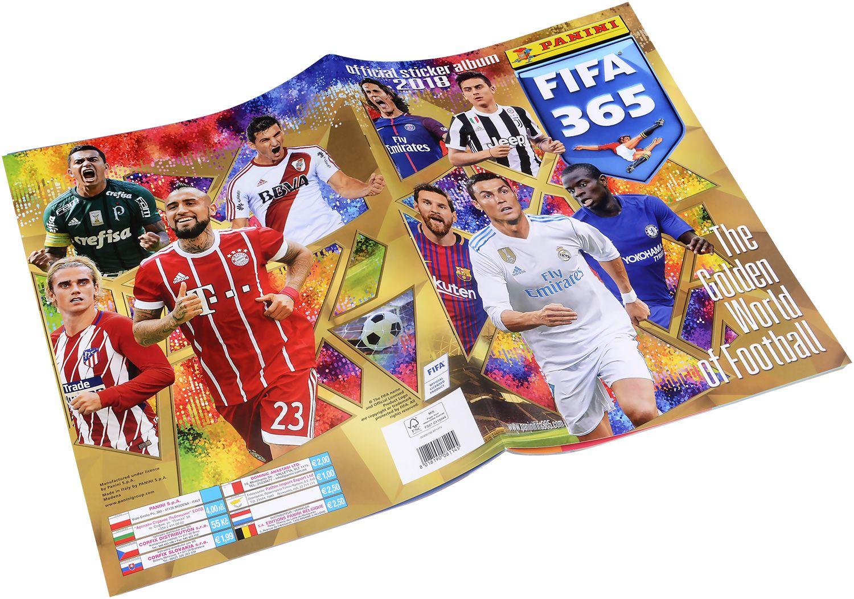 Стартов Пакет - Албум с 25 стикера Panini FIFA 365 - 2018 - 5