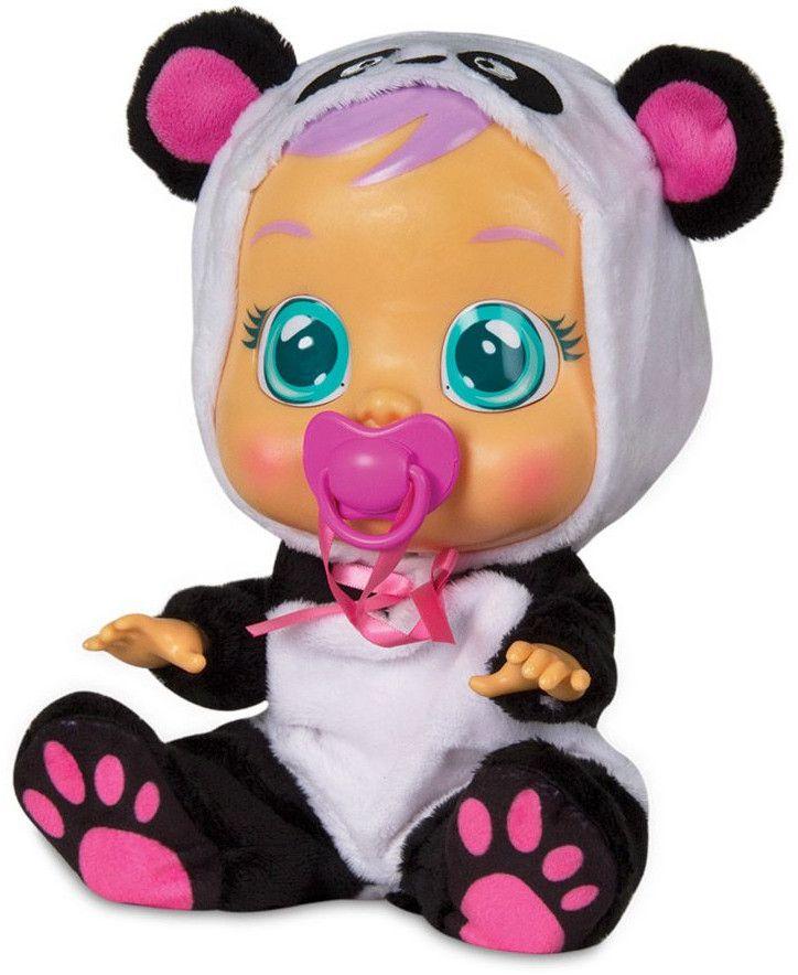 Детска играчка IMC Toys Crybabies – Плачещо със сълзи бебе, Панди - 1