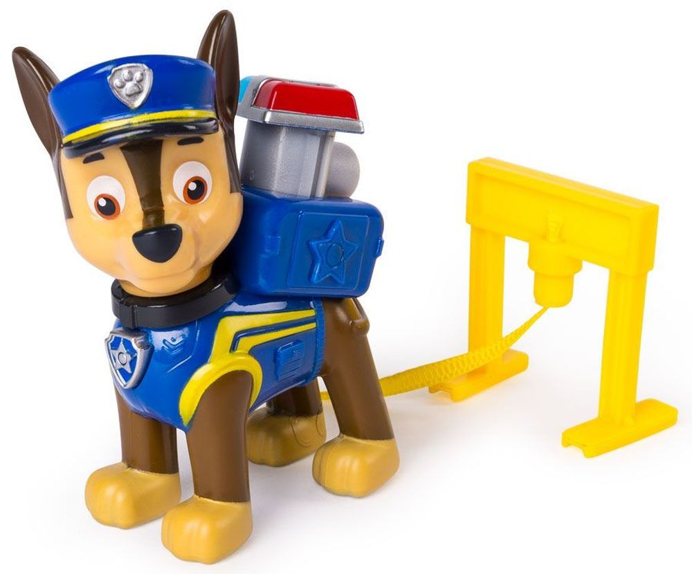 Фигура със значка Spin Master Paw Patrol - Ultimate Rescue, Чейс - 2