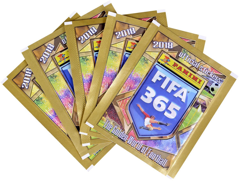 Стартов Пакет - Албум с 25 стикера Panini FIFA 365 - 2018 - 10