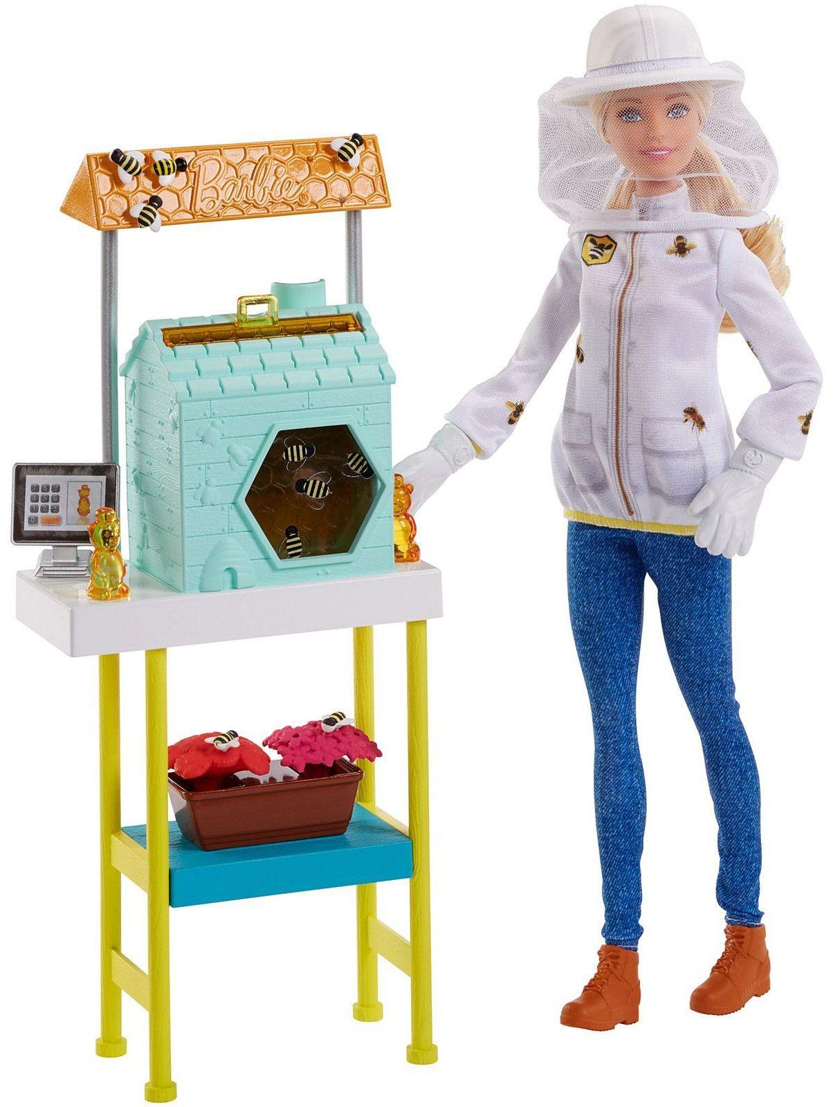 Игрален комплект Mattel Barbie - Пчеларка - 1