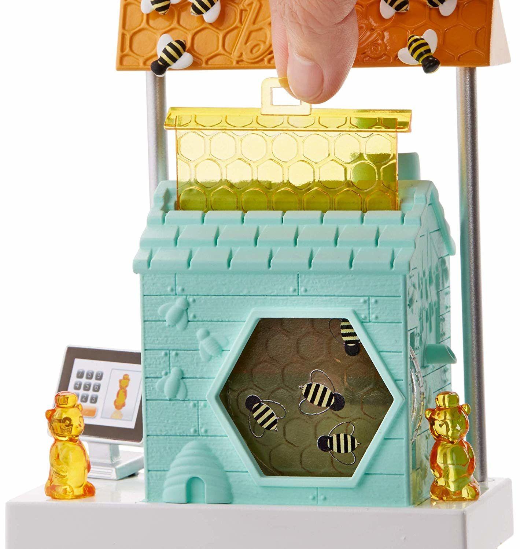 Игрален комплект Mattel Barbie - Пчеларка - 7