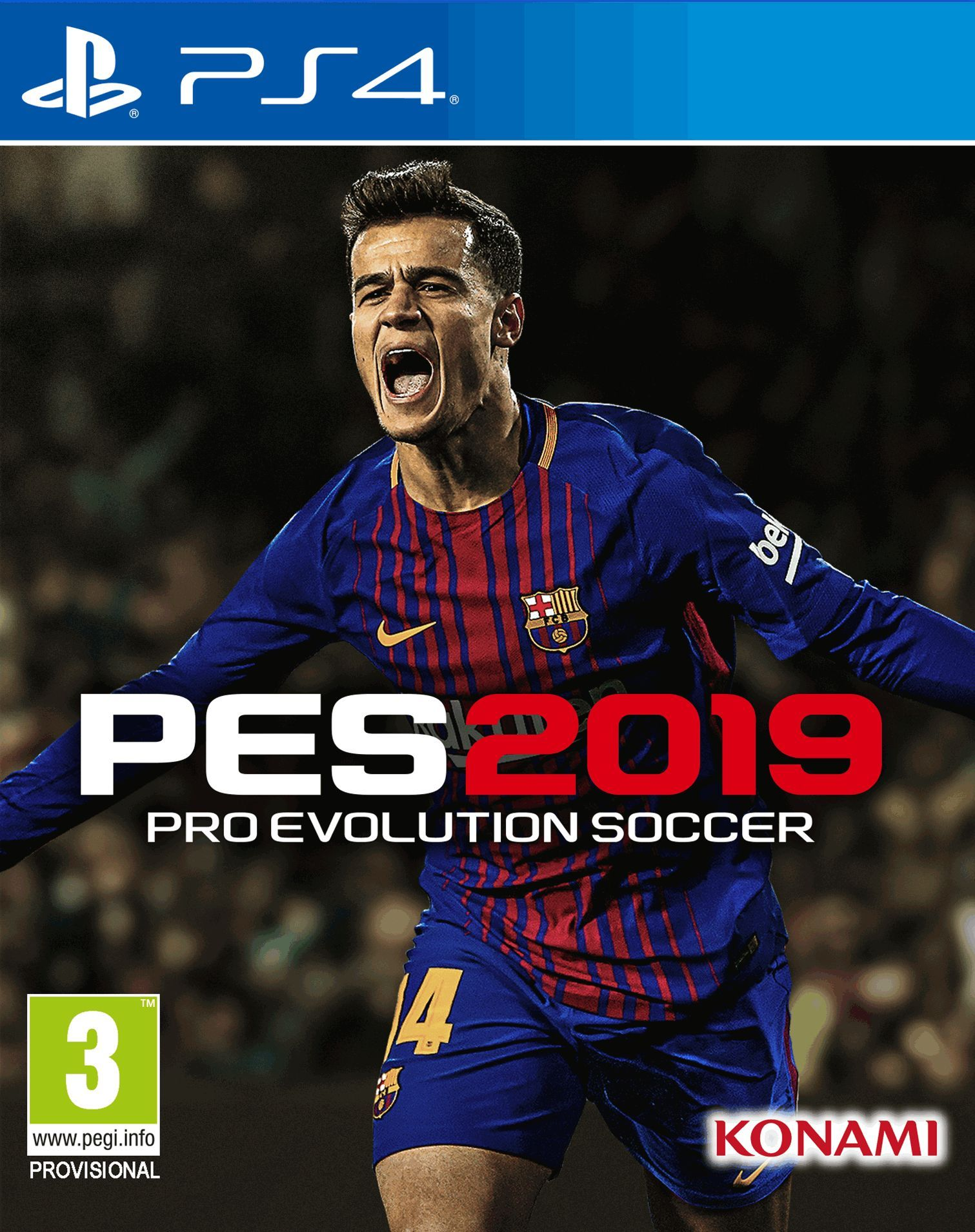 Pro Evolution Soccer 2019 (PS4) - 1