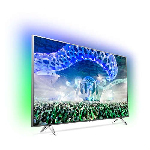 Телевизор Philips 65PUS7601/12 4K Ultra HD LED - 2