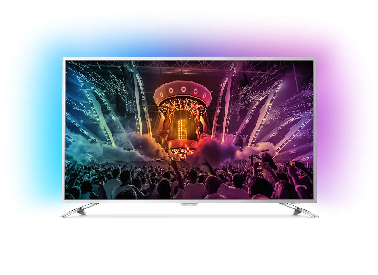 Телевизор Philips 49PUS6561/12 4K Ultra HD LED - 1