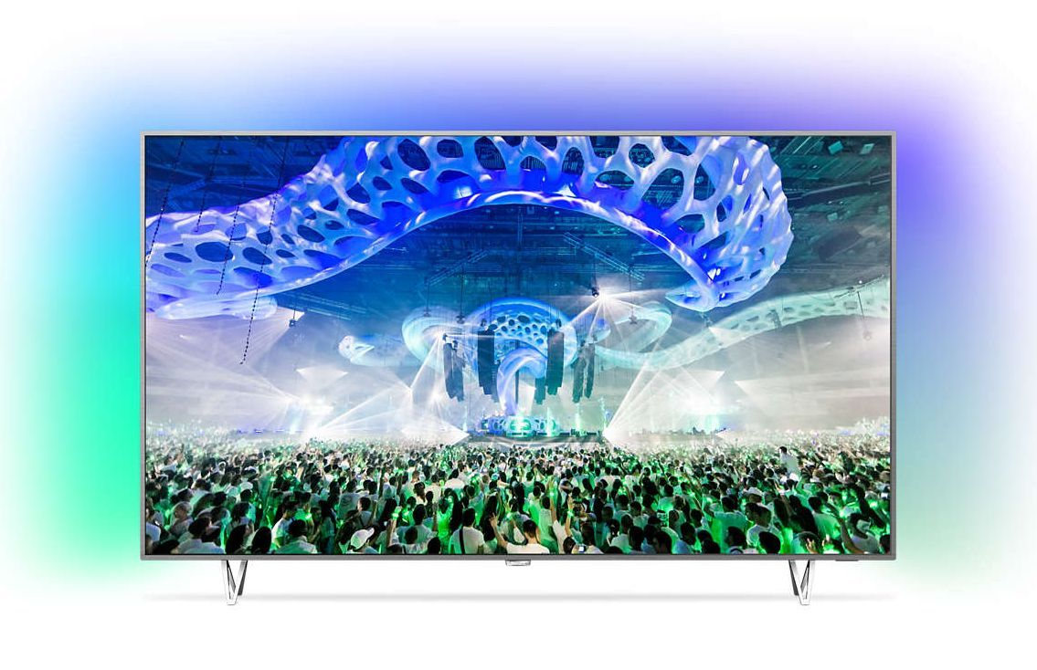 Телевизор Philips 65PUS7601/12 4K Ultra HD LED - 1