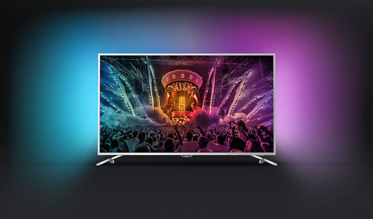 Телевизор Philips 49PUS6561/12 4K Ultra HD LED - 3