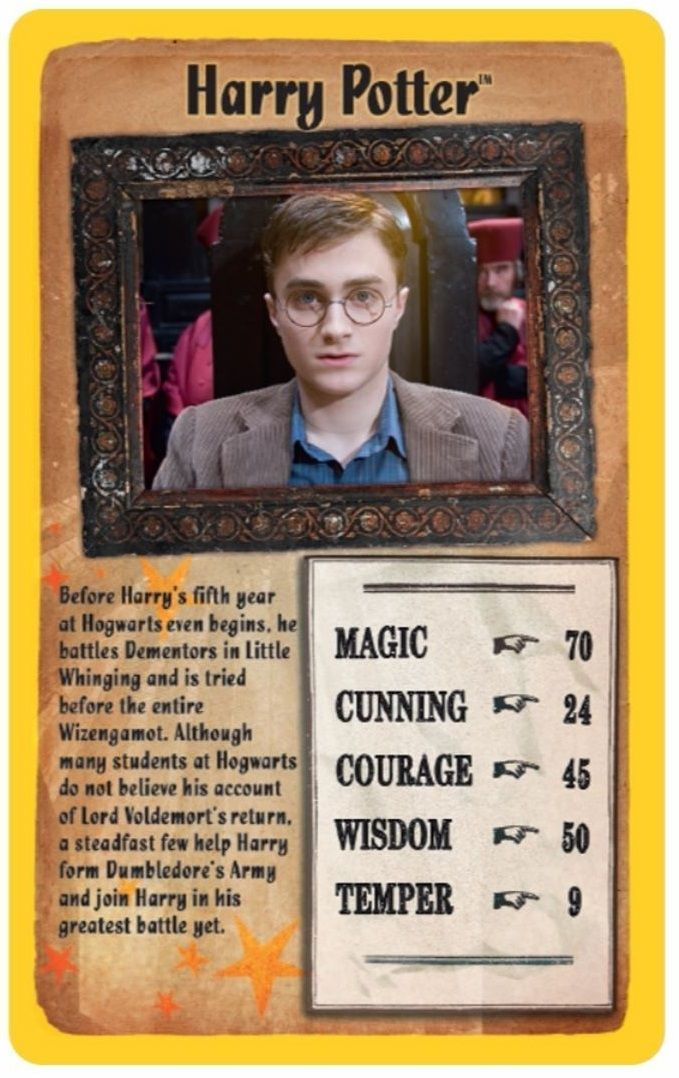 Игра с карти Top Trumps - Harry Potter and the Order of the Phoenix - 2