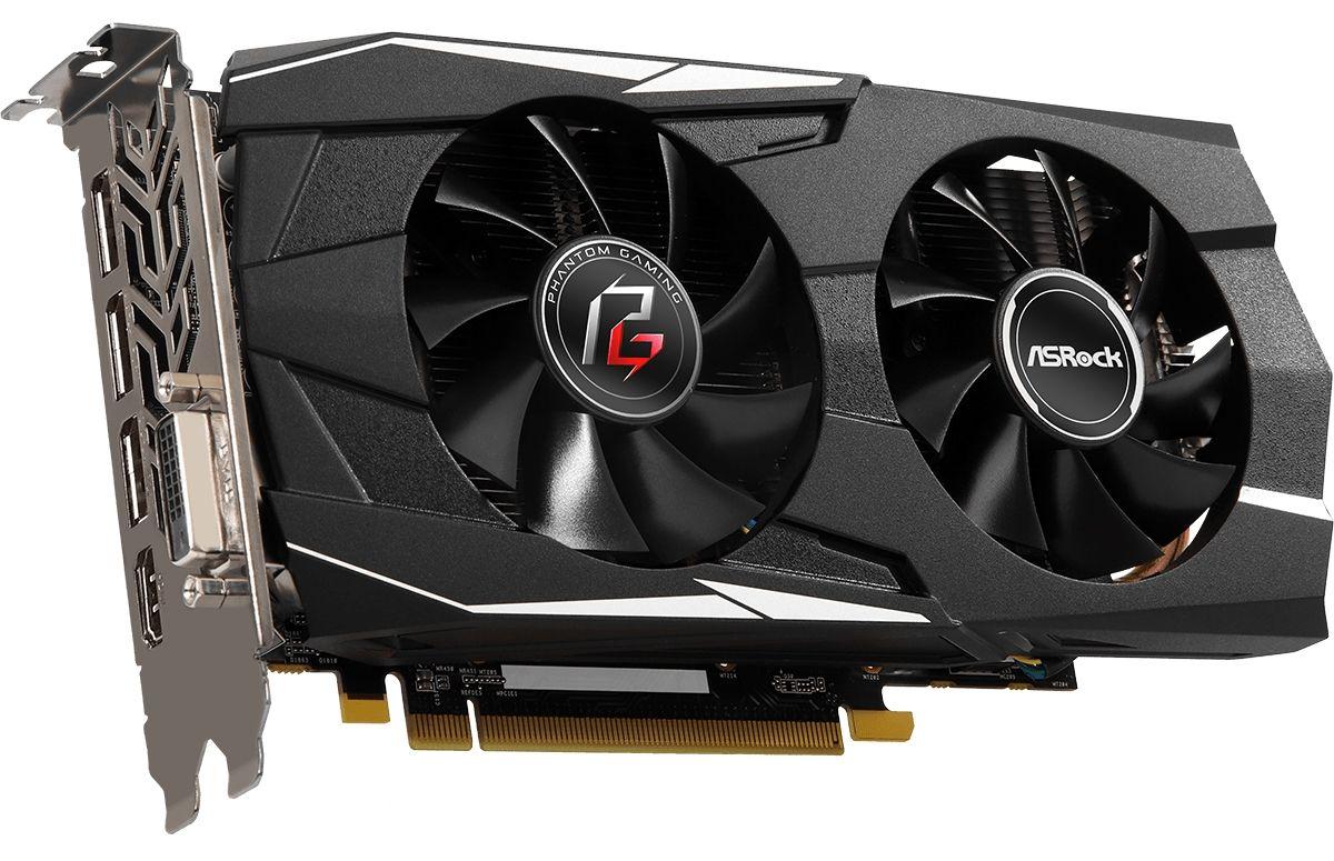 Видеокарта ASRock Radeon RX 580 - Phantom Gaming D OC, 8GB, GDDR5 - 4