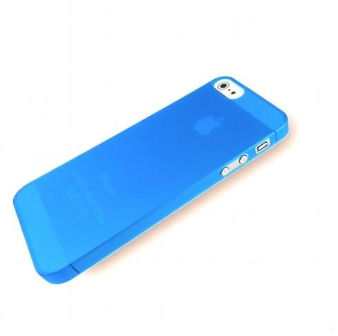 Pinlo Slice 3 за iPhone 5 -  син-прозрачен - 1