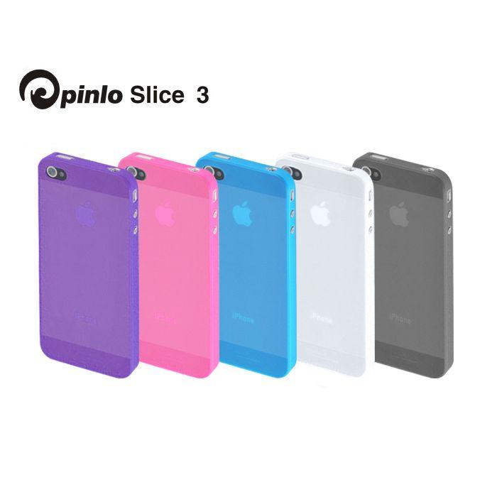 Pinlo Slice 3 за iPhone 5 -  лилав - 5