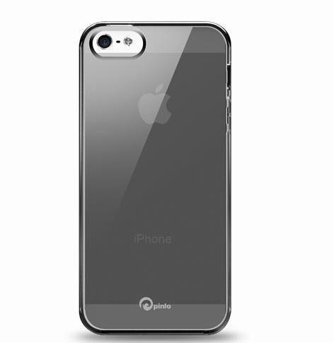 Pinlo Concize Case TPU за iPhone 5 -  черен - 1