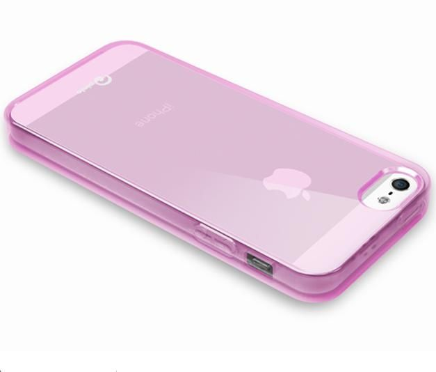 Pinlo Concize Case TPU за iPhone 5 -  розов - 3