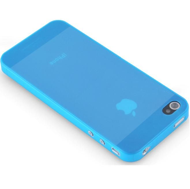 Pinlo Slice 3 за iPhone 5 -  син-прозрачен - 2
