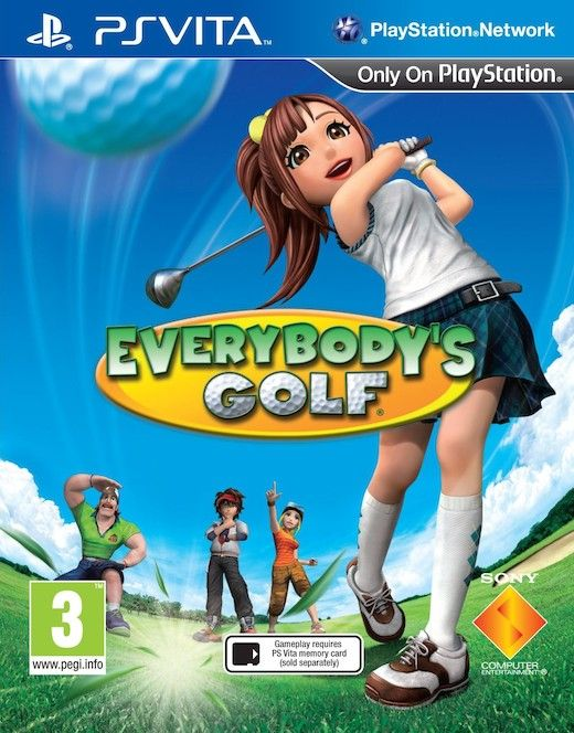 Everybody's Golf (PS Vita) - 1