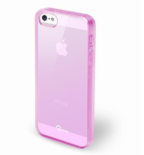 Pinlo Concize Case TPU за iPhone 5 -  розов - 2