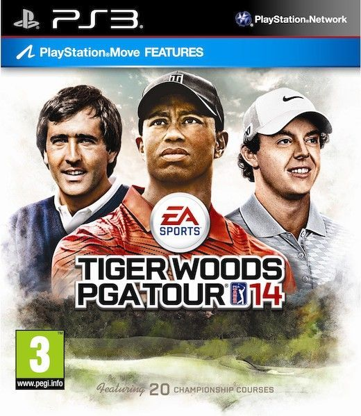 Tiger Woods PGA Tour 14 (PS3) - 1