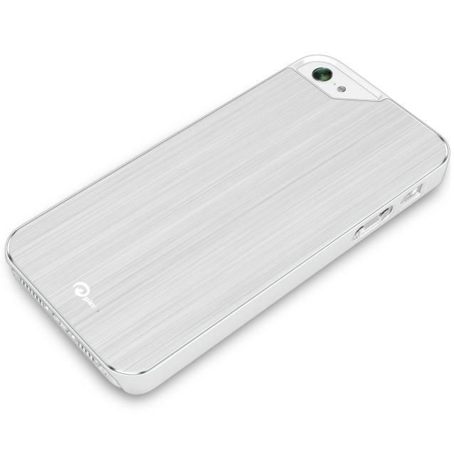 Pinlo Concize Metal II за iPhone 5 -  бял - 2
