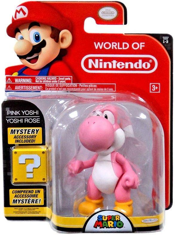 Фигурка World of Nintendo Super Mario - Pink Yoshi - 3