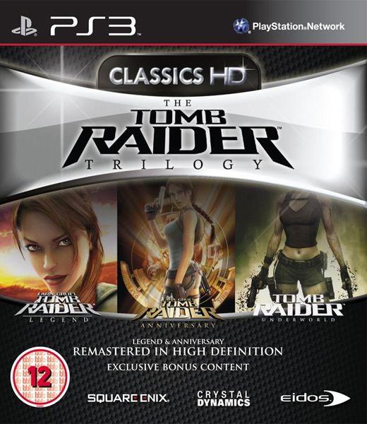 Tomb Raider Trilogy HD Classics (PS3) - 1
