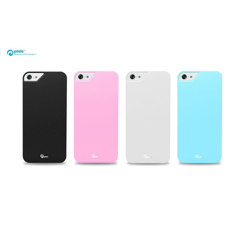 Pinlo Rubber Slice за iPhone 5 -  розов - 4