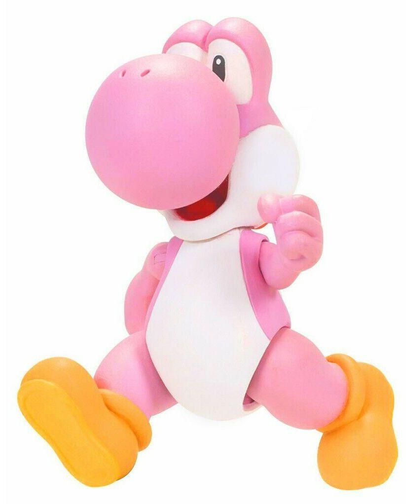 Фигурка World of Nintendo Super Mario - Pink Yoshi - 1