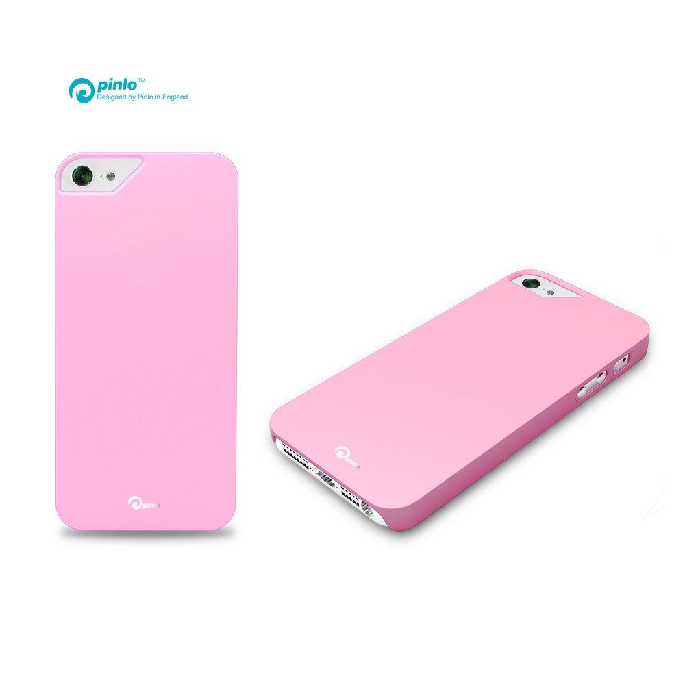 Pinlo Rubber Slice за iPhone 5 -  розов - 3