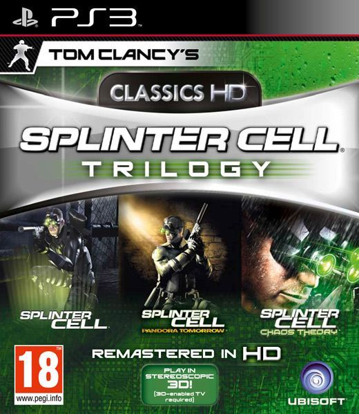 Tom Clancy's Splinter Cell Trilogy HD Classics (PS3) - 1